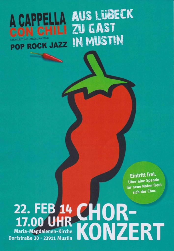 Chor-Konzert in Mustin